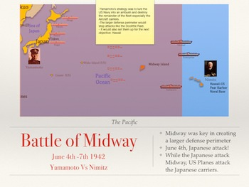 World War 2 Japan's Pacific Campaign PowerPoint and Keynote Presentation