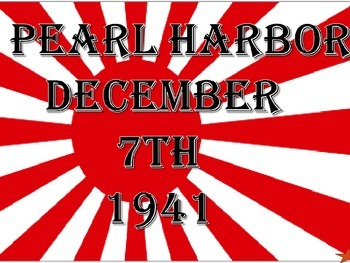 Japan;s Road to War-Pearl Harbor complete unit