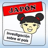 Japón - actividades para investigar sobre el país
