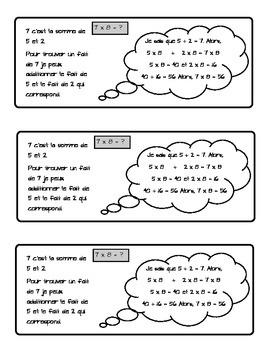 J'apprends les faits de 7 a partir de 5 et 2