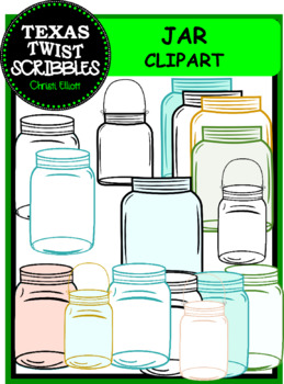 Jar ClipArt...Labels, Writing Pages, Forms