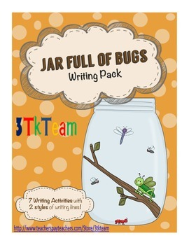 Jar Full of Bugs - Writing Pack