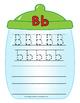 Jar Tracing and Writing Flip Book
