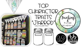 Jar Your Students' Top Character Traits