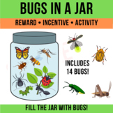 Jar of Bugs - Insects - Clipart - Science - Online ESL Reward - Activity