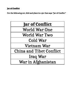 Jar of Conflict