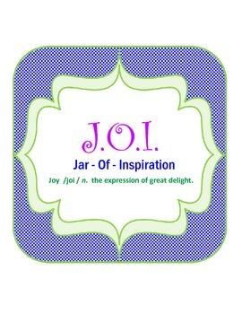 Jar of Inspiration