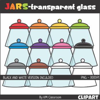 Jars Transparent Clip Art