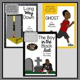 Jason Reynolds Book Talk Bundle Ghost, Long Way Down, Boy in the Black Suit