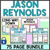 Jason Reynolds Bundle -Long Way Down, Look Both Ways, Ghos