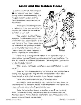 Jason and the Golden Fleece - Greek and Roman Legend