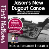 Jason's New Dugout Canoe - First Nations' and Native Ameri