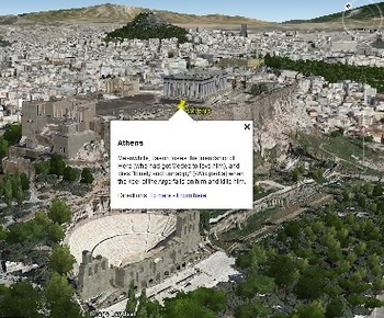Jason's Quest for the Golden Fleece - Google Earth tour