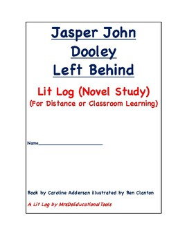 Jasper John Dooley Left Behind Lit Log