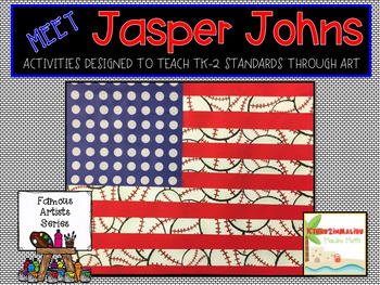 Jasper Johns Famous Artist Unit-Art Project and More