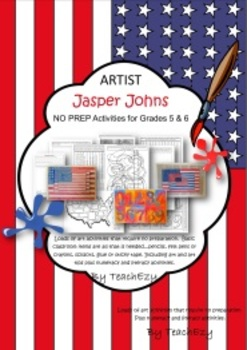 Jasper Johns NO PREP unit of Activities Grade 5 & 6