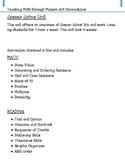 Jasper Johns Unit for Number Sense and Comprehension Strategies