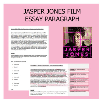 Jasper Jones Film Sample Essay Paragraph