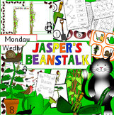 Jasper's Beanstalk story activity pack- Growing, Spring