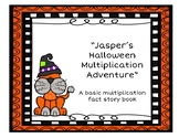 Jasper's Halloween Multiplication Adventure - A Basic Multiplication Fact Story