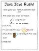 Java Java Rush Rush A pre-primer sight word game