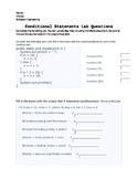 Java Programming - Conditional Statements Lab