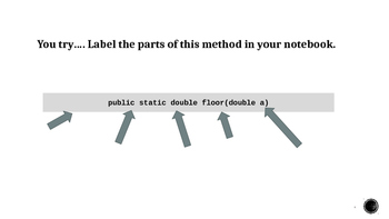 Java Programming - Math Class Notes