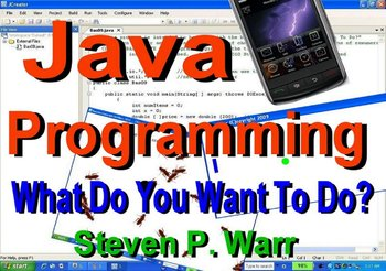 """Introduction video for """"Java Programming  What Do You Want To Do?"""""""
