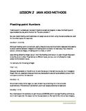 Java Programming for Beginners - Lesson 2