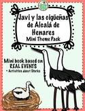 Javi y las cigüeñas de Alcalá de Henares A Spanish Mini Theme Pack about Storks