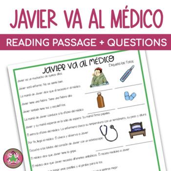 Javier Va al Médico Mini-Cuento