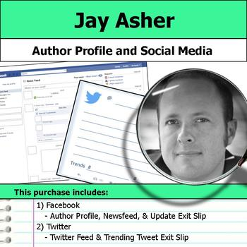 Jay Asher - Author Study - Profile and Social Media