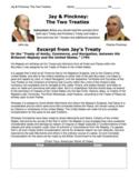 """Jay's Treaty & Pinckney's Treaty / """"Pros and Cons"""" Activit"""