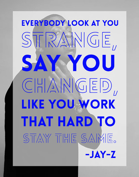 Jay-Z Motivational Classroom Poster