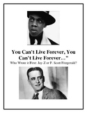 Jay-Z or F. Scott Fitzgerald? Know Your Prose, Gatsby!