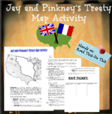 Jay's and Pinkney's Treaty Mapping Activity