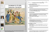 Jay's Treaty, Alien and Sedition Acts, and The XYZ Affair Powerpoint & Worksheet