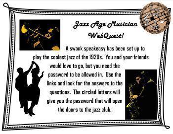 Jazz Age Quest
