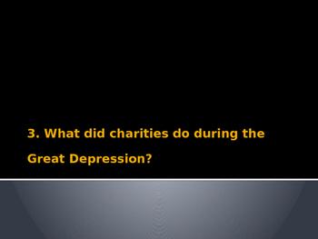 Jazz Age/Roaring Twenties/Great Depression Powerpoint