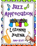 Jazz Appreciation Listening Journal
