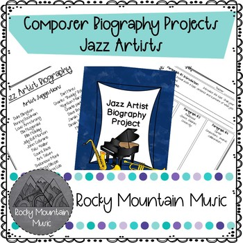 Jazz Artist Biographie Project