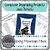 Jazz Artist Biography Project