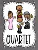 Jazz Artist Musical Groupings Poster Set