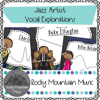 Jazz Artist Vocal Exploration Flashcards