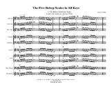 Jazz Band Bebop Scales - Grades 6-12 Jazz Band