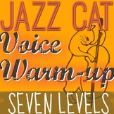 Jazz Cat Voice Warm-Up - 7 LEVELS TO IMPROVE PITCH MATCHING! Black History