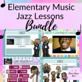 Jazz Lessons for Elementary Music Class BUNDLE