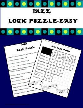 Jazz Logic Puzzle-Easy