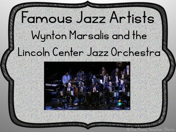 """""""JAZZ: MADE IN AMERICA"""" POWERPOINT- CELEBRATE AMERICA'S MUSIC!"""