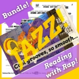 History of Jazz Music Worksheets and Reading Passage Using Rap Song